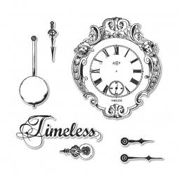 Sizzix Framelits u. Stempel Uhren / Clocks 659 053
