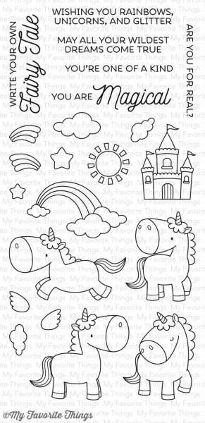 My Favorite Things Clear Stamps Einhorn / Magical Unicorns BB-34