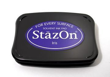StazOn Stempelkissen blau / iris SZ-000-011