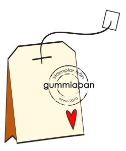 Gummiapan Stempelgummi Teebeutel / Tepase 11060102