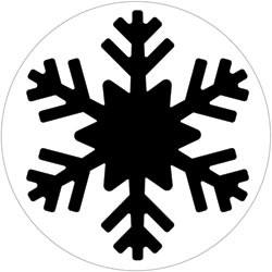 EK Success Slim-Motivstanzer Schneeflocke/snowflake 54-30067