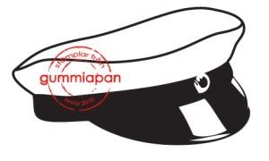 Gummiapan Stempelgummi Studenten-Mütze / Studentmössa 12020303
