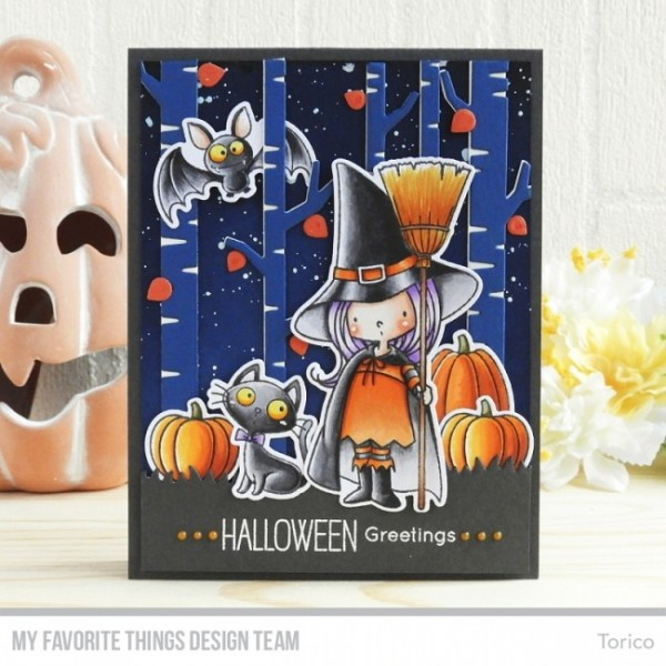 My Latest Article On Things: My Favorite Things Clear Stempel Hexe Mit Besen / Witch