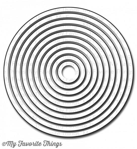 Dienamics Stanzform Kreise Set 2 / Circle STAX 2 MFT-164