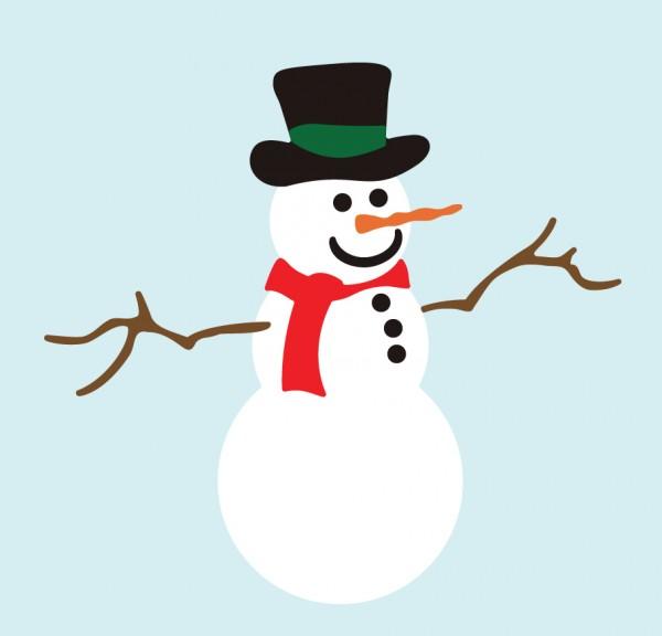 DD Schneemann / frosty the snowman C140
