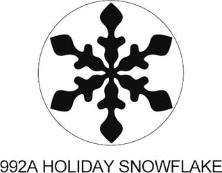 Tonic Motivstanzer Holiday Snowflake 992A