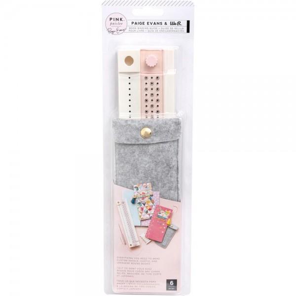 We R Memory Keepers Pink Paislee Book Binding Tool 310850