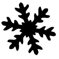 Make Me Motivstanzer Giant Schneeflocke 7,6 cm 115635/5511