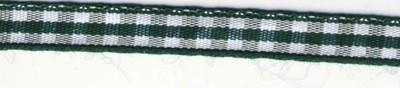 Karoband, 6,3 mm, SB-Rolle 10 m, DUNKEL-GRÜN 55-407-84