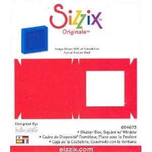 Sizzix Stanzform Originals LARGE Schüttelbox / Shaker Box Square w/ Window 38-1162 / 654673