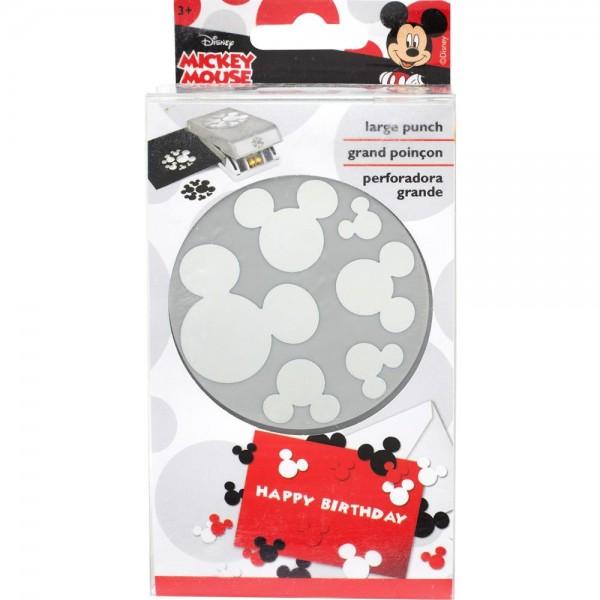 EK Success Slim-Motivstanzer Mickey Maus Köpfe Konfetti / Mickey Ears Confetti 51-80002