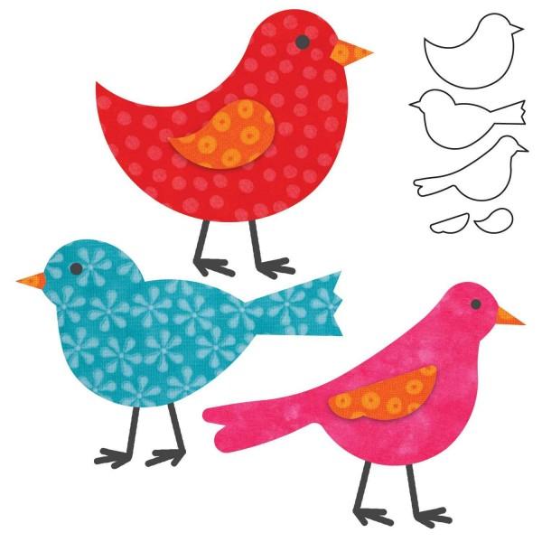 Stanzform Go ! Vögel / Birds 55324