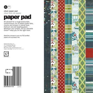 Paper Pad OLIVER 15,2 cm x 15,2 cm VER-2715