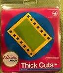 Ellison Design Thick Cuts Stanzform Filmstreifen # 2 groß / film strip # 2 22214