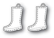 Memorybox Stanzform Regenstiefel mit Nähnaht / Stitched Rain Boots 99955