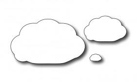 Frantic Stampers Stanzform Wolken / Little Clouds FRA-DIE-09170