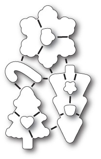 Memorybox Stanzform Christmas Cookies 32185