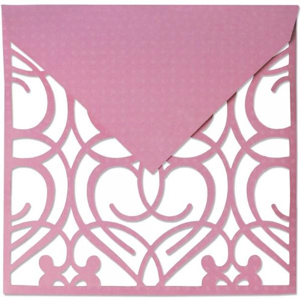 Sizzix Thinlits PLUS Stanzform Umschlag quadratisch / Envelope Square 660846 / 59-868-000