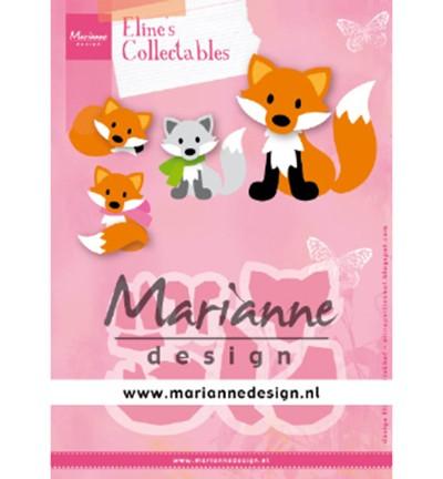 Marianne D Collectable Stanzform Fuchs / Cute Fox COL1474