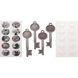 Tim Holtz Metall-Schlüssel / Collage Keys TH93079