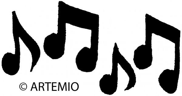 Stempel Musik-Noten PEB537