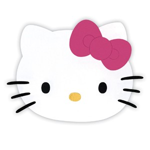 Sizzix Stanzform Originals LARGE Hello Kitty Gesicht mit Schleife / face w/ bow 655790