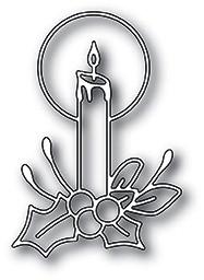 Memorybox Stanzform brennende Kerze / Radiant Candle 99895
