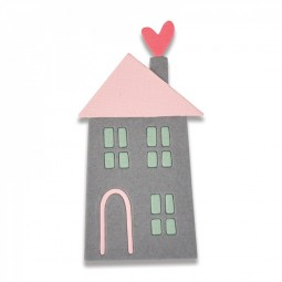 Sizzix Thinlits Stanzform Haus / Home Sweet Home # 2 661789