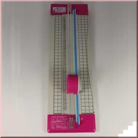 CreaMotion Papierschneider 31 cm ( grau-pink ) BSN95299