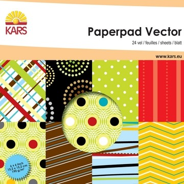 Paperpad VECTOR 15,2 x 15,2 cm 117000/0004 od. 001861/0004
