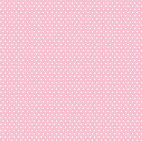 """Core'dinations Core Basics Cardstock 12 """" x 12 """" ROSA Punkte klein / Light Pink Small Dots GX-2300-4"""