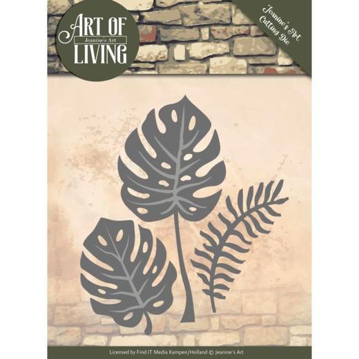 Jeaninnes Art Stanzform Blätter / Leaves JAD10055