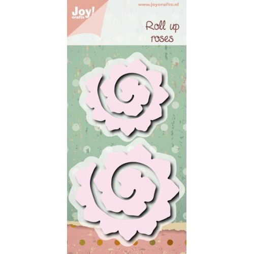 Joycrafts Stanzform Rosen gerollt / Roll Up Roses 6002/0472
