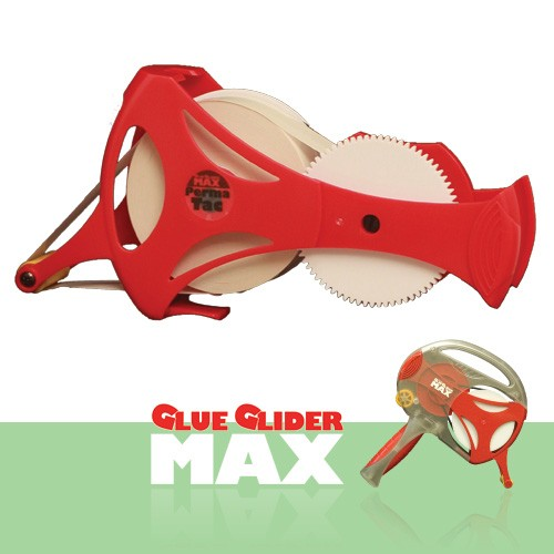 """GlueGlider MAX Nachfüllkleberolle 1/2 """" x 33,5 Meter PermaTac GG"""