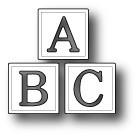 Poppystamps Stanzform A, B , C Blocks 1382