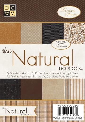Papierblock Natural Matstack 11,4 x 16,5 cm MS-003-00059