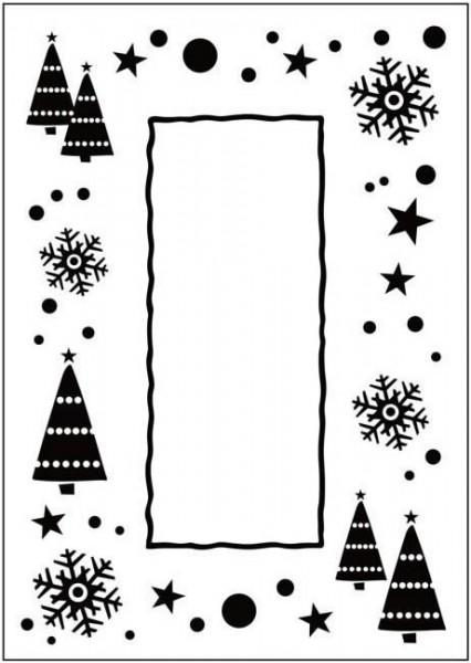 Prägefolder exclusiv Let it Snow Frame CTFD3036