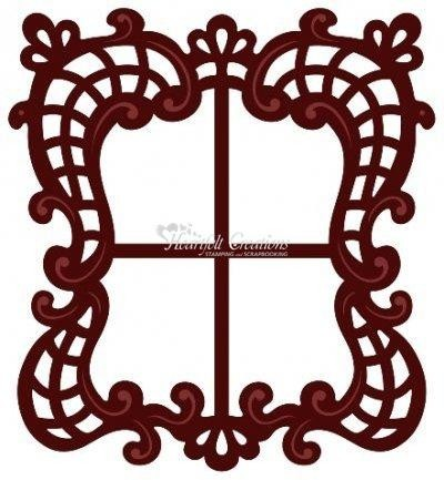 Heartfelt C.Stanz-u. Prägeform Decorative Window Scene HCD708
