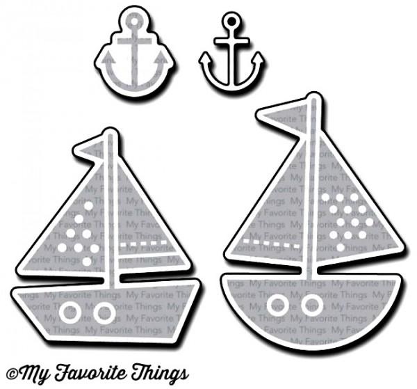 Dienamics Stanzforml Boot / Schiff / You Float my Boat MFT-1120