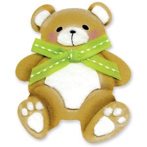 Sizzix Stanzform Originals LARGE Teddybär # 2 / teddy bear # 2 654994