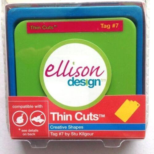 Ellison Design Thin Cuts Stanzform Anhänger # 7 / Tag # 7 22172