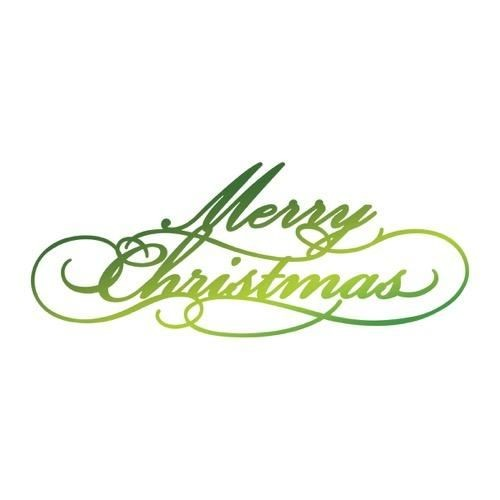 Ultimate Crafts Hotfoil Stamp ' Merry Christmas ' ULT158338