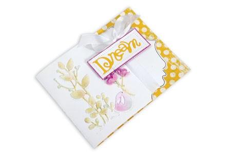 Sizzix Stanzform BIGZ XL Karte A 2 mit dekorativer Abschlußkante / Card A 2 w/decorative edge 657083