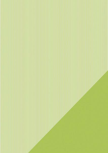 Bastelkarton Streifen A 4 IMMER - GRÜN 80-588-426