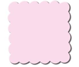 Motivstanzer Jumbo Quadrat gewellt 5,7 cm ( rosa ) UR 1946 00 59