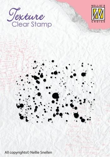 Nellies Choice Clearstempel Spritzer / Spatters TXCS011