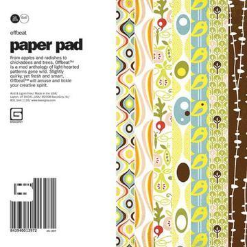 Paper Pad OFFBEAT 15,2 cm x 15,2 cm OFB-1397