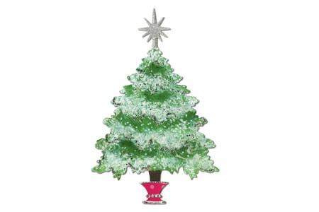 Sizzix Stanzform BIGZ Weihnachtsbaum mit Stern u. Topf / tree Christmas w/star & stand 656738