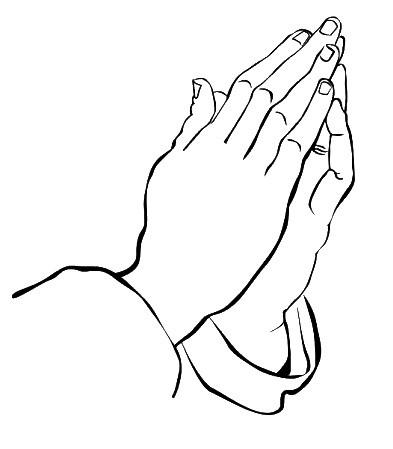 JM-Creation Stempelgummi Betende Hände 21188