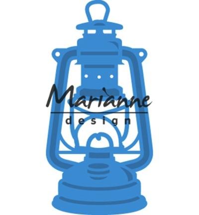 Marianne D Stanz-u. Prägeform Laterne / Hurricane Lamp LR0533